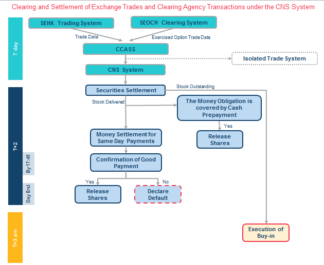 Clearing and Settlement of Exchange Trades and Clearing Agency Transactions under the CNS System